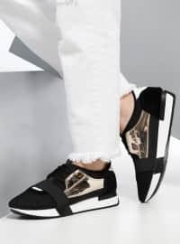 Spor Ayakkabı - Siyah - Dujour Paris