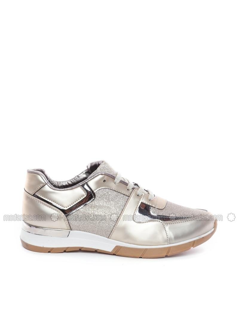 gold sport casual shoes dujour by dujour