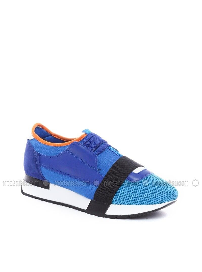 blue sport casual shoes dujour