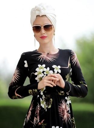 Burcu Elbise - Siyah