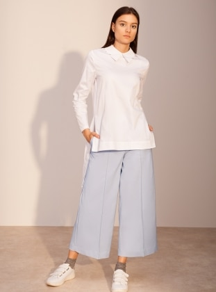 Kuaybe Gider Sole Pantolon - Mavi