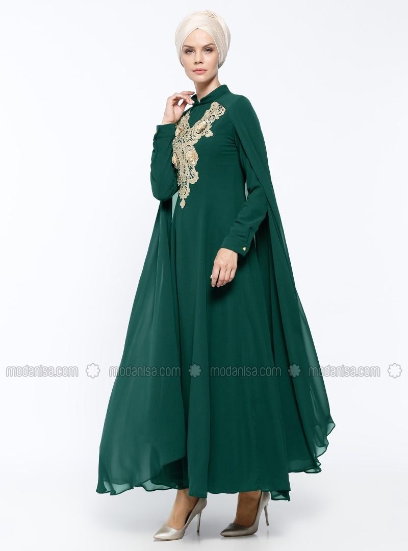 8efe45bc0cb34 Mezuniyete Hazırlık Tüyoları: Tesettür Abiye Elbise Modelleri