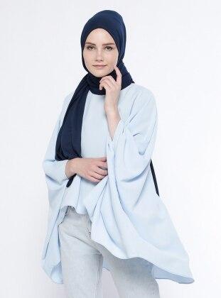 Salaş Bluz - Bebe Mavisi Belle Belemir