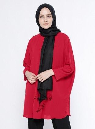 Salaş Tunik - Kırmızı Belle Belemir