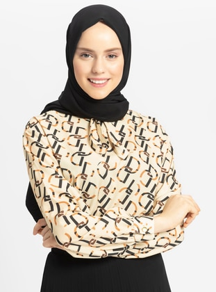 Crepe - Plain - Black - Shawl - Tuva Şal