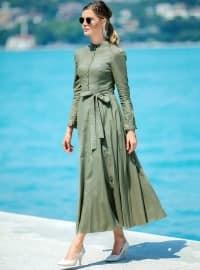 İrem Elbise - Haki - Zehrace