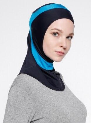 Swim Headwear - Blue - Pink