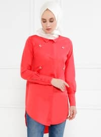 Coral - Point Collar - Tunic - Refka
