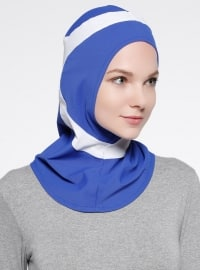 Runner Sports Headwear - Blue - White
