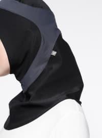 Runner Sports Headwear - Black - Gray