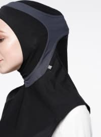 Running XL Sports Headwear - Black - Gray
