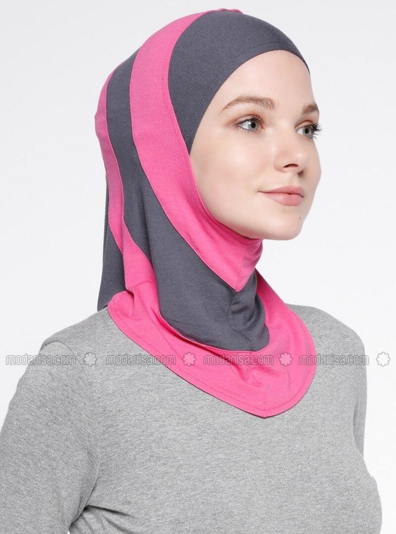 Fitness Sports Headwear - Pink - Gray