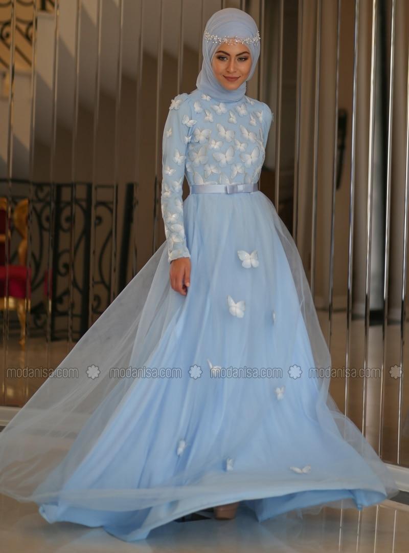 Contemporary Islamic Wedding Gown Model - All Wedding Dresses ...