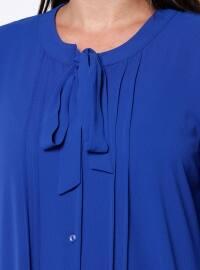 Saxe - Polo neck - Plus Size Tunic