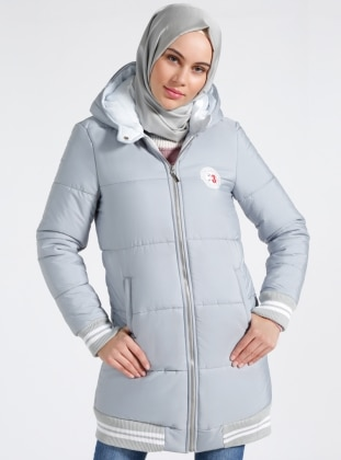 Blue - Fully Lined - Puffer Jackets
