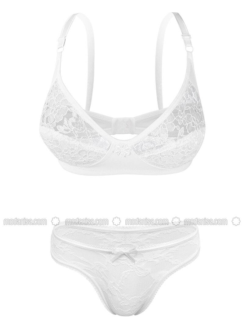 White - Bra Set