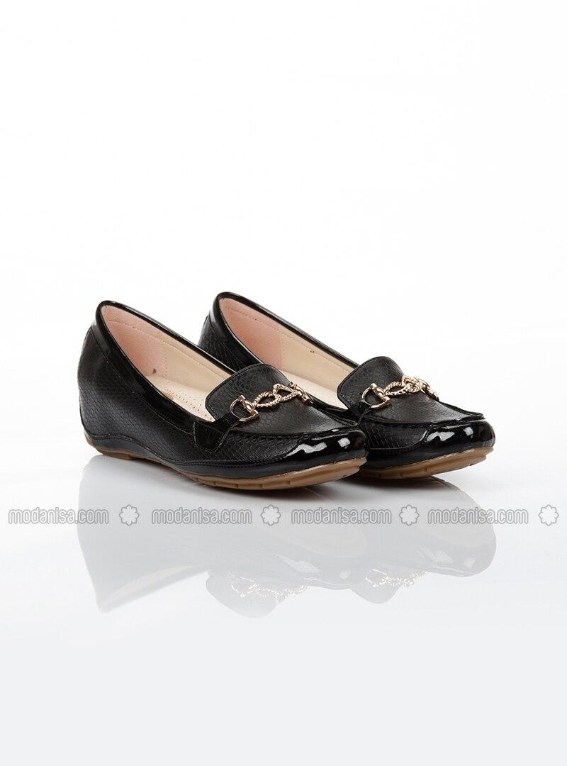 black high heel casual shoes ayakkab箟 havuzu