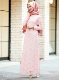Dantelli Elbise - Somon - Puqqa