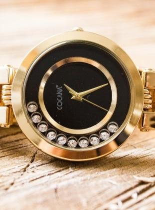 Metal Saat - Gold Cocana