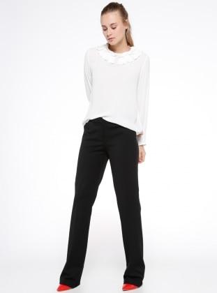Klasik Pantolon - Siyah Koton
