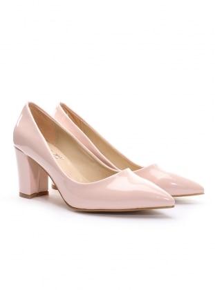 topuklu ayakkabı - pudra - 19v69 italia