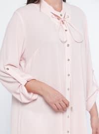 Powder - V neck Collar - Plus Size Tunic