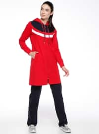 Coral - Red - Tracksuit Set