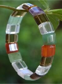 Doğaltaş Bileklik - Karışık Renkli - Stoneage