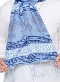 Ethnic - Multi - Blue - Shawl
