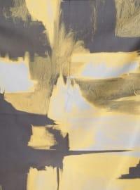 Printed - Multi - Yellow - Scarf - Renkli Butik