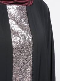 Powder - Black - Crew neck - Unlined - Dress