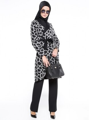 Black - Gray - Multi - Unlined - Shawl Collar - Puffer Jackets