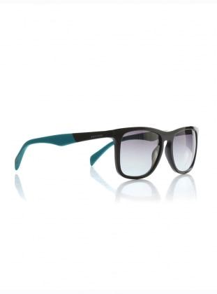 Kemik Güneş Gözlüğü - Siyah Yeşil - Diesel Ürün Resmi