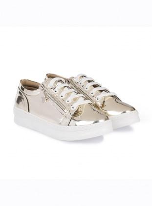 ayakkabı - gold - just shoes