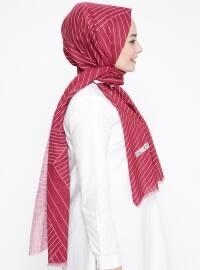 Striped - Pink - Shawl