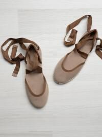 Sandalet - Açık Vizon - Bambi