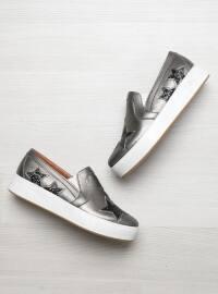 Spor Ayakkabı - Siyah Bakır - Bambi