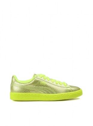 Basket Future Mınımal Spor Ayakkabı - Sarı - Puma Ürün Resmi