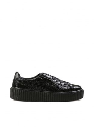 Creeper Wrınkled Patent Spor Ayakkabı - Siyah - Puma Ürün Resmi