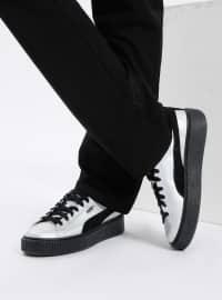 Basket Platform Explosıve Wns Spor Ayakkabı - Gri - Puma