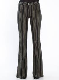 Khaki - Stripe - Pants