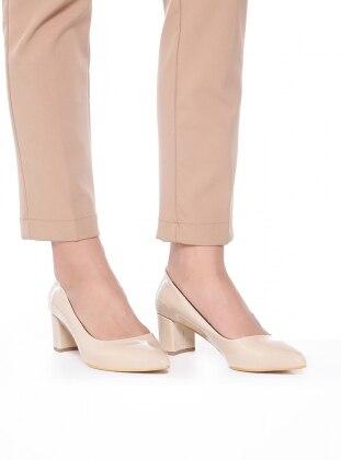 Beige – High Heel – Shoes – Bambi
