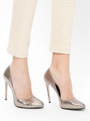 Brown - High Heel - Shoes