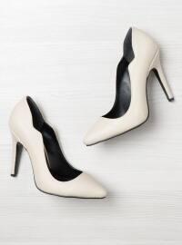 Topuklu Ayakkabı - Bej - Bambi