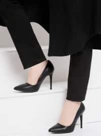 Topuklu Ayakkabı - Siyah - Bambi