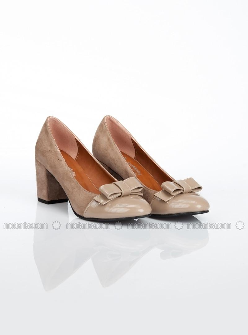 beige high heel shoes ayakkab havuzu. Black Bedroom Furniture Sets. Home Design Ideas