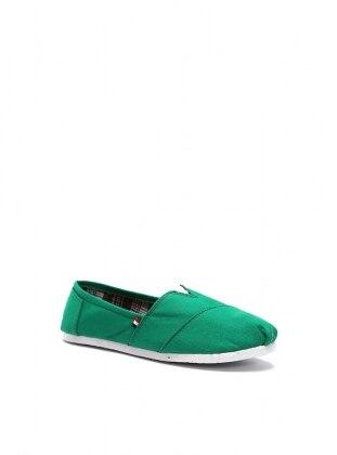 ayakkabı - yeşil - b.f.g polo style
