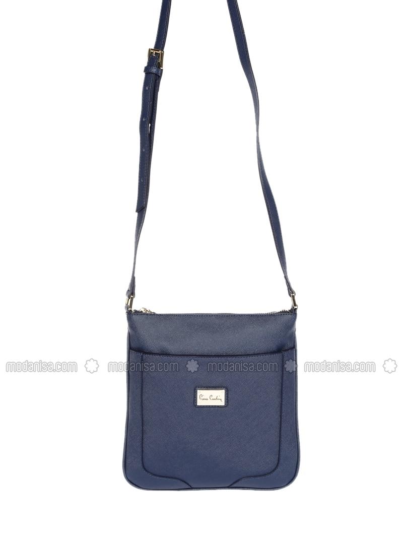 301c2c656d88 Navy Blue - Satchel - Crossbody - Bag. Fotoğrafı büyütmek için tıklayın