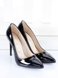 Stiletto Ayakkabı - Siyah Rugan - B.F.G POLO STYLE