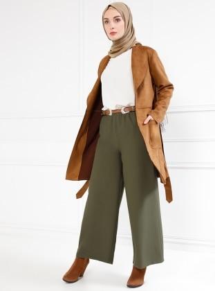 Basic Pantolon - Haki Refka